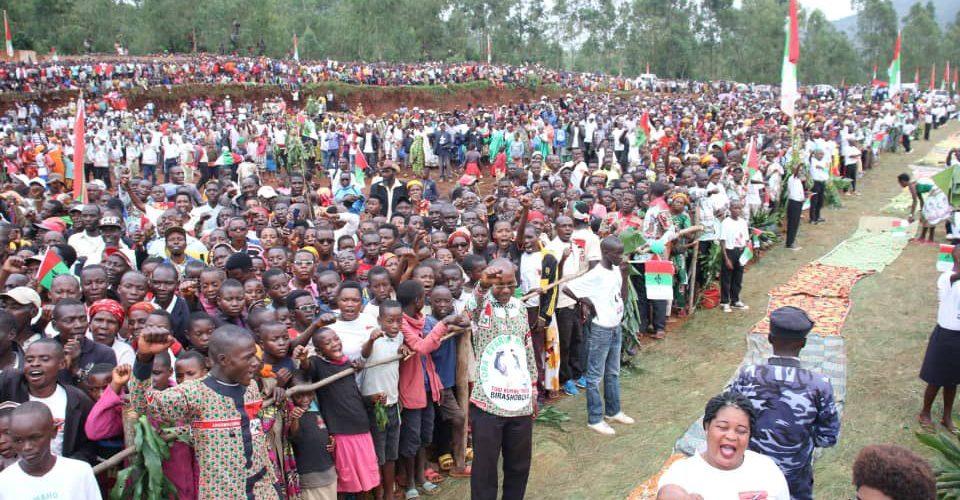 BURUNDI : GITEGA, 17ème étape de la tournée du nouveau SG du CNDD-FDD