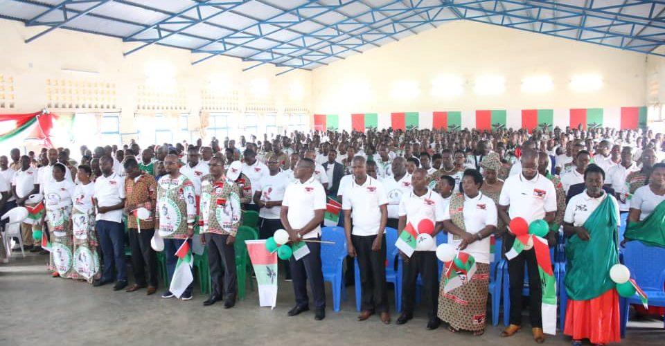 BURUNDI : MURAMVYA, 13ème étape de la tournée du nouveau SG du CNDD-FDD