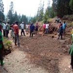 BURUNDI : TRAVAUX DE DEVELOPPEMENT COMMUNAUTAIRE - Reboisement et entretien de la route NYANGEMBE / CANKUZO