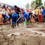 BURUNDI : TRAVAUX DE DEVELOPPEMENT COMMUNAUTAIRE - Bâtir le STADE SPORTIF AGASAKA / NGOZI