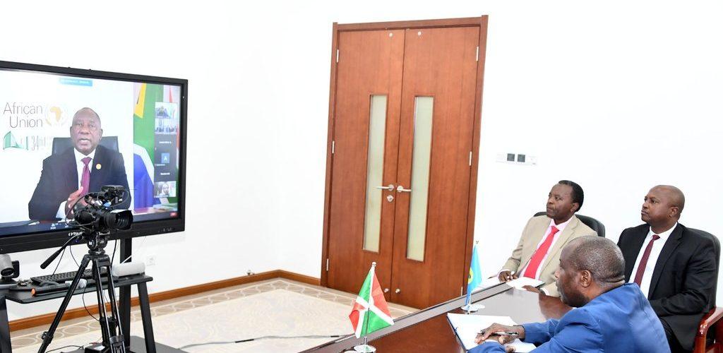 BURUNDI : 34ème Sommet des Chefs d'Etat et de Gouvernement de l'UA