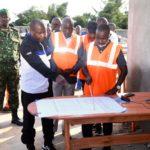 BURUNDI : Visite du chantier de réhabilitation du marché de KAMENGE / BUJUMBURA