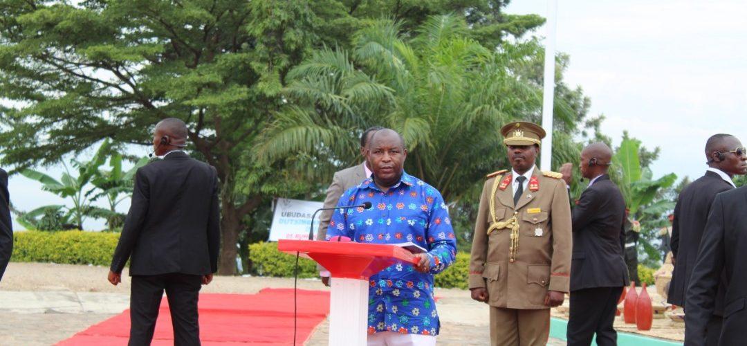 BURUNDI : BUJUMBURA commémore les 30 ans de la Charte de L'UNITE NATIONALE