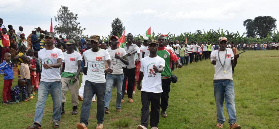 BURUNDI : Le CNDD-FDD BUGENYUZI a de très nombreux nouveaux adhérents / KARUSI
