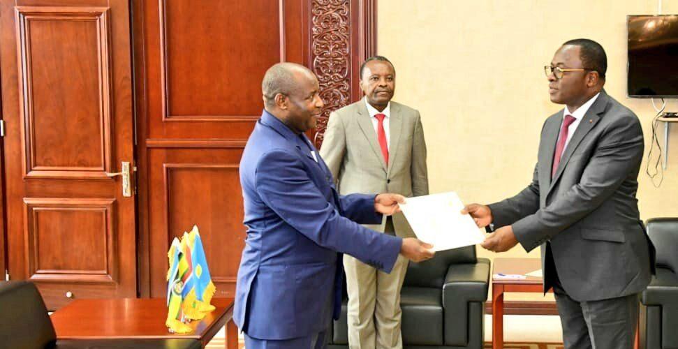 BURUNDI : Envoyé Spécial du Président de CÔTE D'IVOIRE