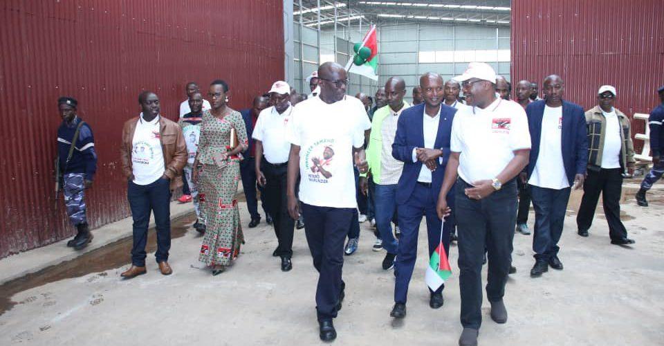 BURUNDI : KAYANZA, 4ème étape de la tournée du nouveau SG du CNDD-FDD