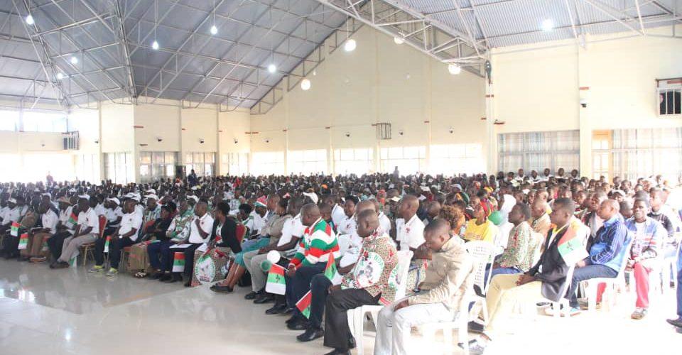 BURUNDI : NGOZI, 5ème étape de la tournée du nouveau SG du CNDD-FDD