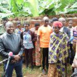 BURUNDI : Visite des plantations en colline CISHA à BUGENDANA / GITEGA