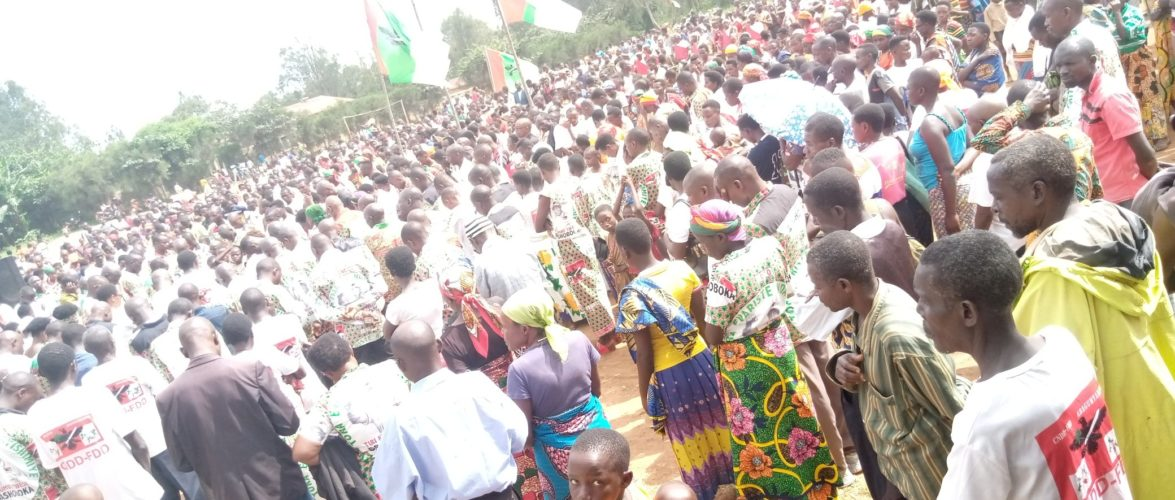 BURUNDI : Les BAGUMYABANGA de NYABITSINDA fêtent la victoire du CNDD-FDD en 2020 /RUYIGI
