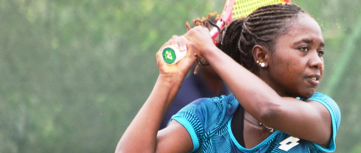 BURUNDI / TENNIS : POTCHEFSTROOM – NAHIMANA Sada bat Dejana RADANOVIC, score 6/2,7/6