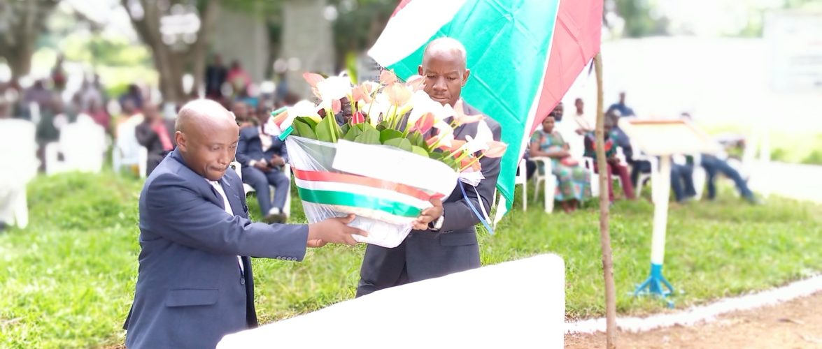 BURUNDI : CIBITOKE – Commémoration des 30 ans de la Charte de L'UNITE NATIONALE