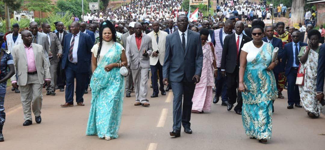 BURUNDI : Célébration de la fête de  l'Unité Nationale à GITEGA
