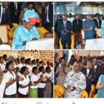 La famille présidentielle se joint aux chrétiens de la paroisse Muzinda dans la prière dominicale