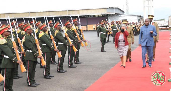 Le Président de la République fédérale d'Ethiopie clôture sa visite au Burundi