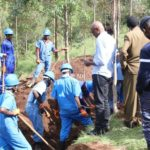 GENOCIDE CONTRE LES HUTU DU BURUNDI EN 1972 / CVR : Fosse commune trouvée et vérifiée à MUZENGA, RUTOVU / BURURI