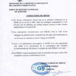 BURUNDI : L' armée burundaise FDNB dément être présent en RDC CONGO