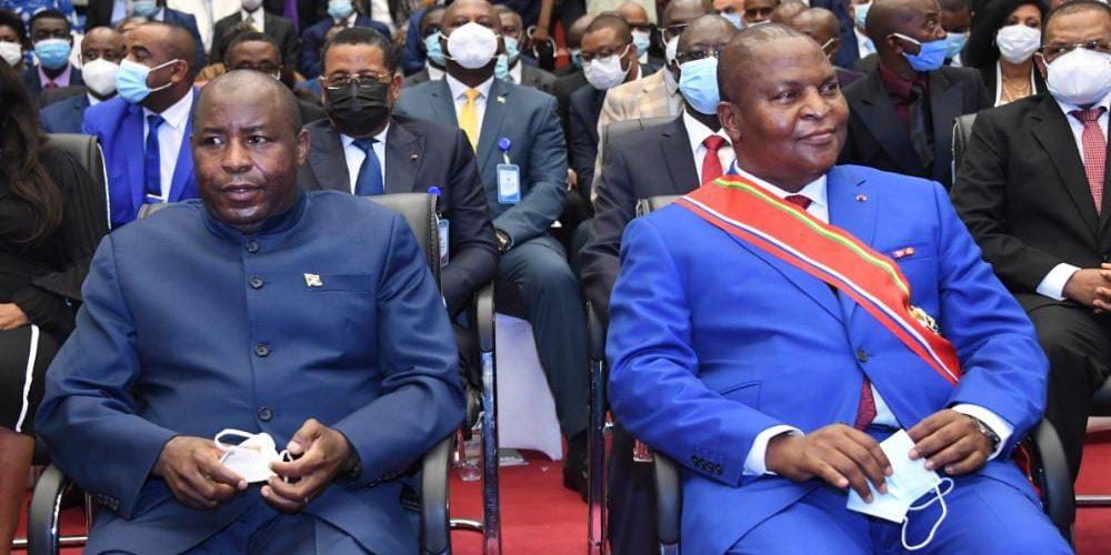 BURUNDI : Investiture de S.E TOUADERA, Président de la CENTRAFRIQUE