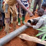 BURUNDI : TRAVAUX DE DEVELOPPEMENT COMMUNAUTAIRE - Poser une canalisation d'eau de MUGINA à RUGOMBO / CIBITOKE