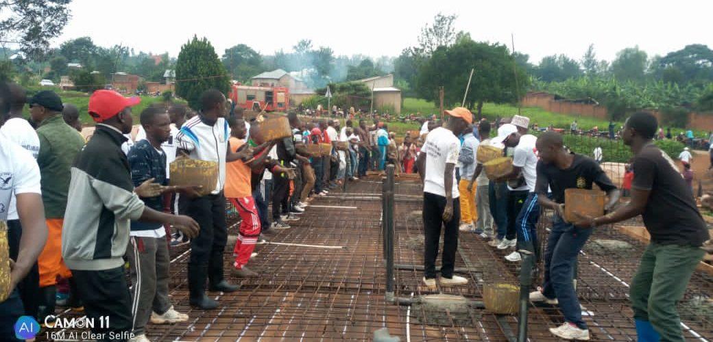 BURUNDI : TRAVAUX DE DEVELOPPEMENT COMMUNAUTAIRE – Construction de la permanence provinciale du CNDD-FDD KIRUNDO