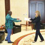 BURUNDI / USA : Amb. Mélanie H. HIGGINS présente ses lettres de créance
