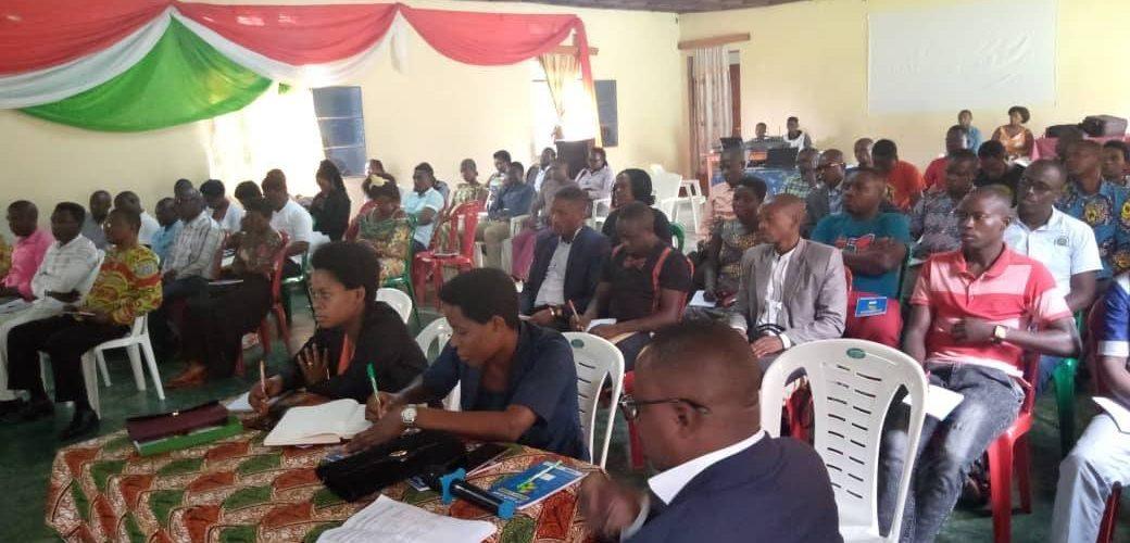 BURUNDI : Formation de 4 jours pour des jeunes de BUBANZA