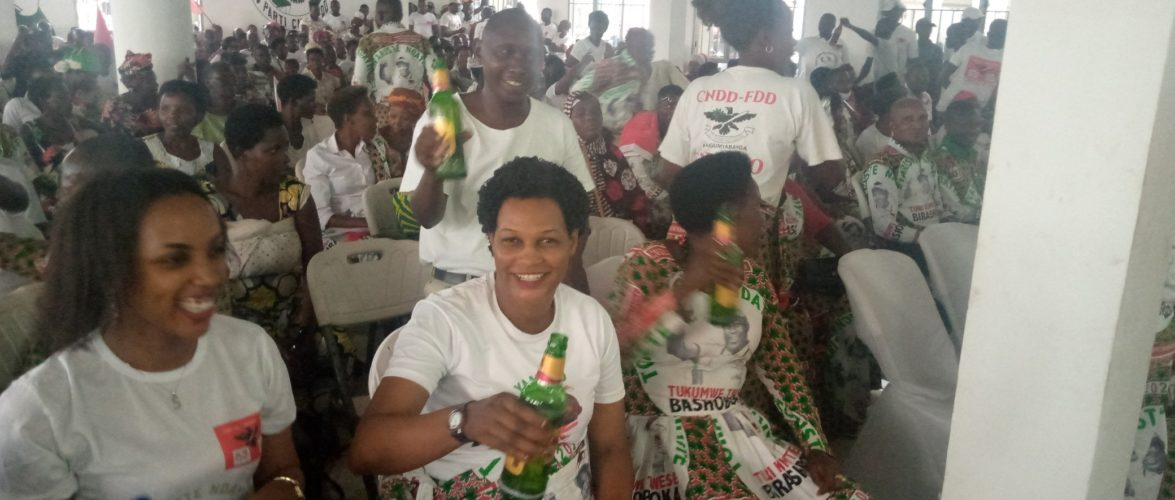 BURUNDI : Les BAGUMYABANGA de MUHA fêtent la victoire du CNDD-FDD en 2020 / BUJUMBURA MAIRIE