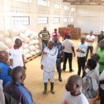 BURUNDI : Les hangars de conservation de récolte de KARURAMA à RUGOMBO / CIBITOKE