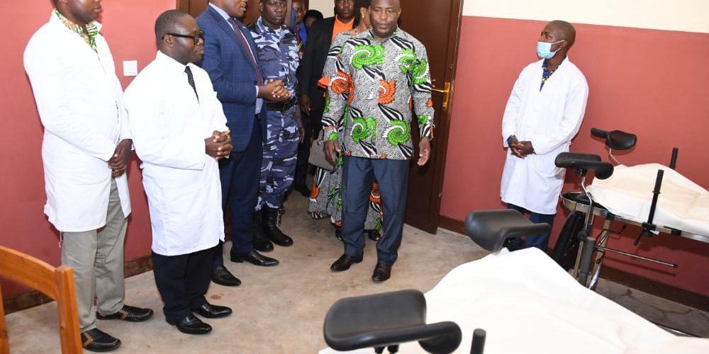 BURUNDI : Inauguration du CENTRE DE SANTE NYAKERU à BUGENDANA / GITEGA