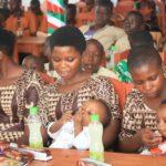 BURUNDI : Repas de bonne année 2021 à MARANGARA / NGOZI