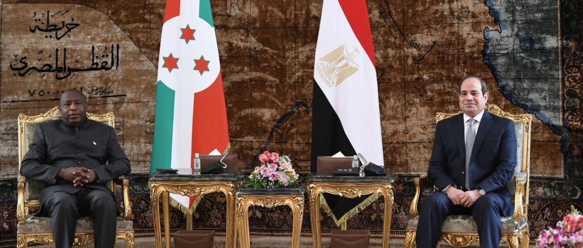BURUNDI : Visite officielle de S.E NDAYISHIMIYE (Général Major) en EGYPTE
