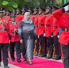 Samia Hassan, première présidente de l'histoire de la Tanzanie