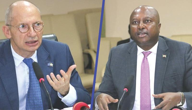 Dialogue UE/Gitega : le chef de la diplomatie burundaise invité à une tournée en Europe