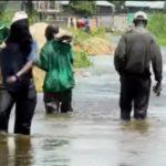 La montée des eaux du lac Tanganyika : des villas inondées