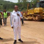 BURUNDI : Le 1er Ministre sur le chantier de la RN16 BURURI - GITEGA