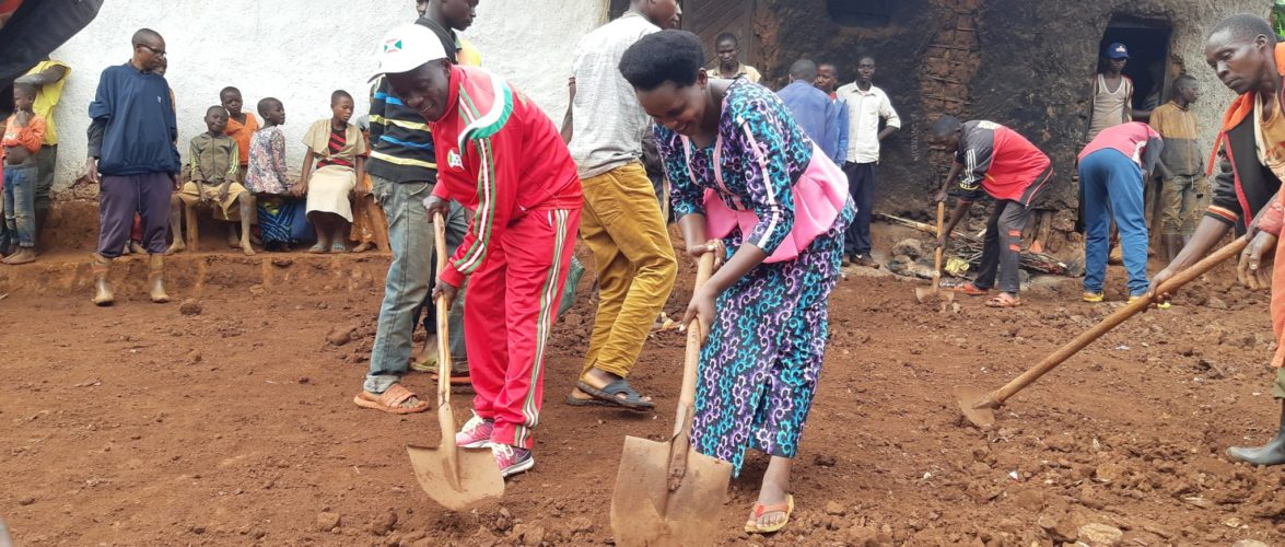 BURUNDI : TRAVAUX DE DEVELOPPEMENT COMMUNAUTAIRE – Réhabiliter la route reliant MUSHONGE et RURAMA, à NYAMURENZA / NGOZI
