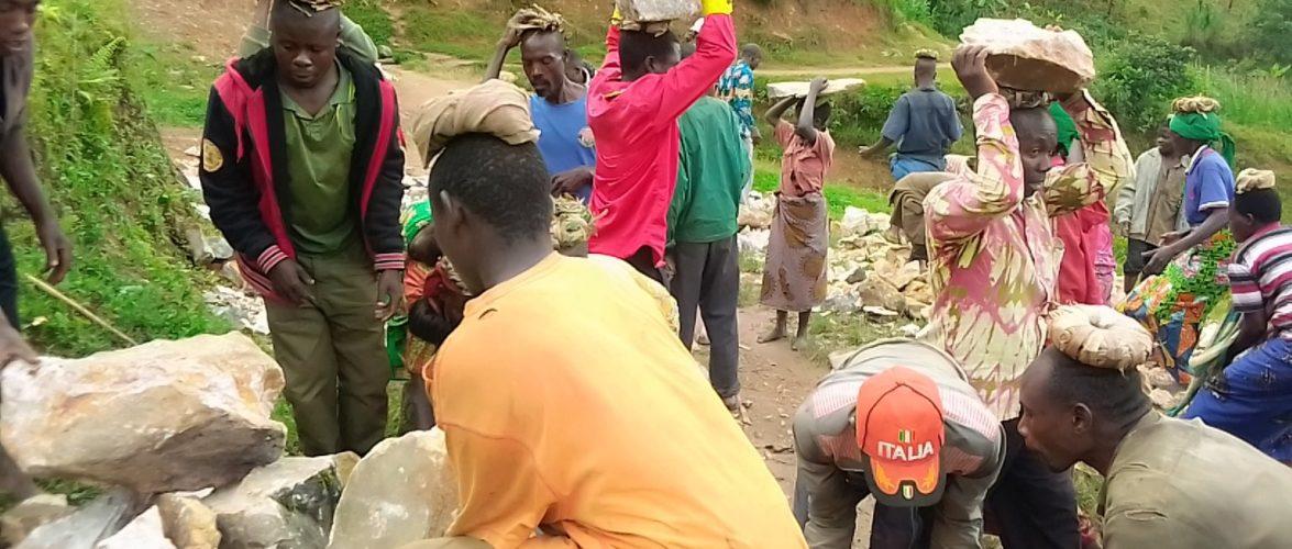 BURUNDI : TRAVAUX DE DEVELOPPEMENT COMMUNAUTAIRE – La construction d'une clinique à GATARE, MUSIGATI / BUBANZA