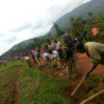 BURUNDI : TRAVAUX DE DÉVELOPPEMENT COMMUNAUTAIRE - Entretien de la route GIKO - SHUMBA à BUKEYE / MURAMVYA