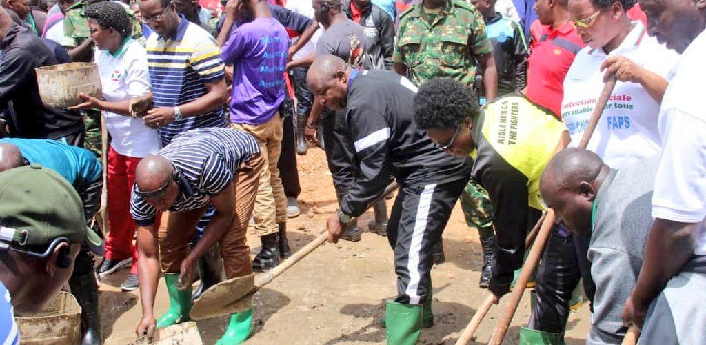 BURUNDI : TRAVAUX DE DEVELOPPEMENT COMMUNAUTAIRE – Bâtir le nouveau Bureau Provincial de RUYIGI