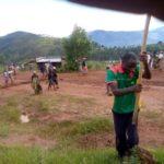 BURUNDI : TRAVAUX DE DEVELOPPEMENT COMMUNAUTAIRE - La route RUSHUBI - RUYANGE et le terrain de jeux de RUYANGE / BUJUMBURA