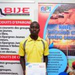 BURUNDI : Un jeune agriculteur - cultivateur de bananes de KIRUNDO primé par l'API