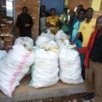 BURUNDI : Bonne récolte de maïs à BUGENDANA / GITEGA