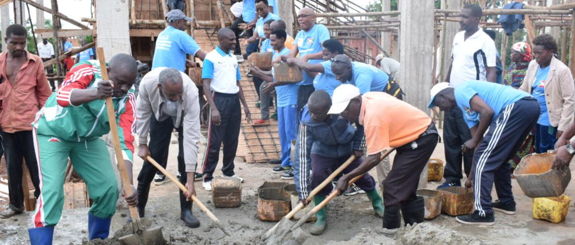 BURUNDI : TRAVAUX DE DEVELOPPEMENT COMMUNAUTAIRE – Construire le Bureau Provincial de RUTANA