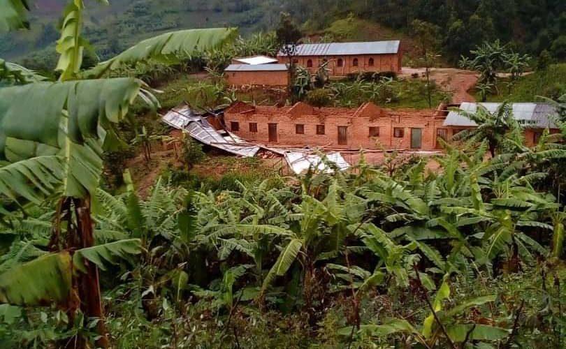 BURUNDI : Nombreux dégâts d'infrastructures liés aux vents violents à BUKINANYANA / CIBITOKE