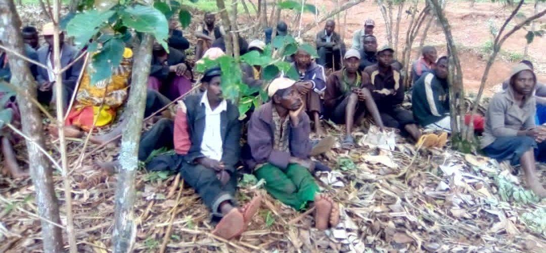 BURUNDI : La section collinaire CNDD-FDD de MIGERA, à NYABIHANGA / MWARO