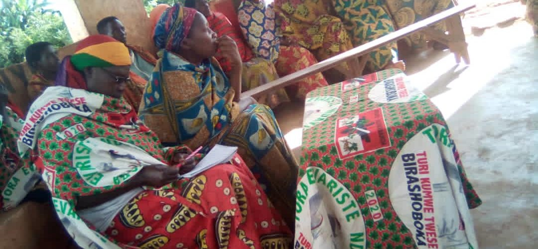 BURUNDI : La section collinaire CNDD-FDD de MURAMA à NYABIHANGA / MWARO
