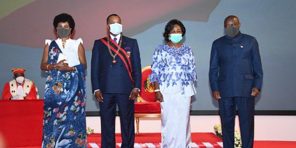 BURUNDI / CONGO BRAZZAVILLE :  Investiture de S.E SASSOU N'GUESSO Denis