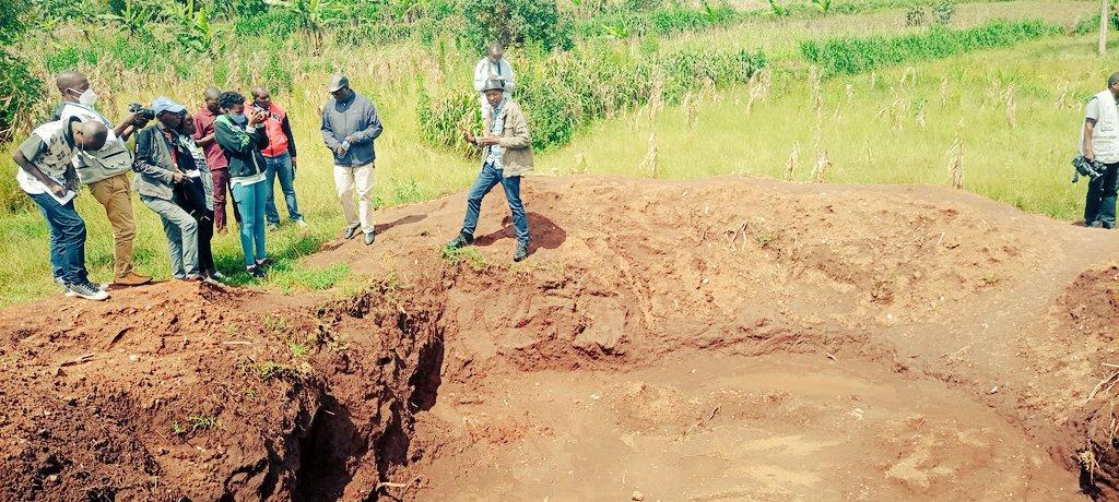 GENOCIDE CONTRE LES HUTU DU BURUNDI EN 1972 :  424 corps de victimes trouvés à MUZENGA, RUTOVU / BURURI