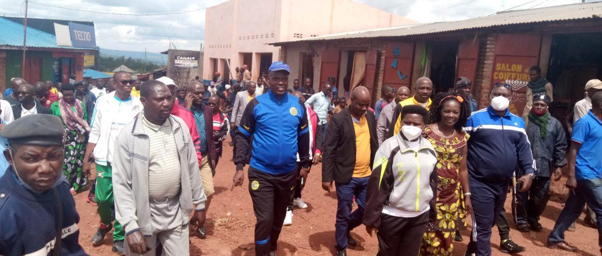 BURUNDI : Visite d'une usine de fabrication des sacs biodégradables à MUKONI / MUYINGA