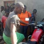 BURUNDI : Une mécanicienne en colline GITWA à MWUMBA / NGOZI