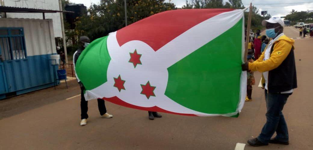 BURUNDI : 243 réfugiés Burundais rapatriés de RDC CONGO / BUJUMBURA
